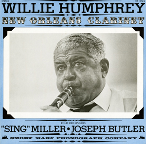 Willie Humphrey Album Cover