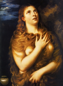 """The Penitent Magdalen,"" by Titian, circa 1533 (Florence, Galleria Palatina)"