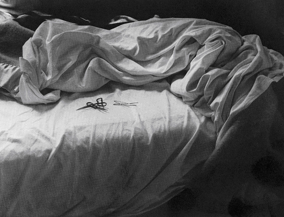 "Imogen Cunningham, ""The Unmade Bed,"" 1957"