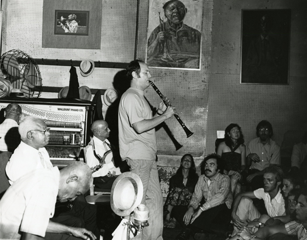 William Carter in Preservation Hall September 1973