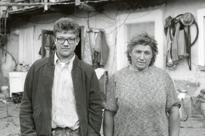 Farm Family, Pizzasco (Lake Orta) Italy 1989 1