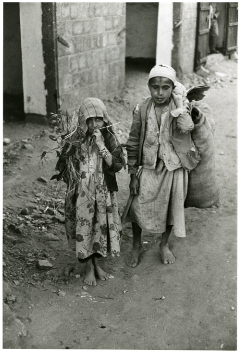 children in Yemen, 1964