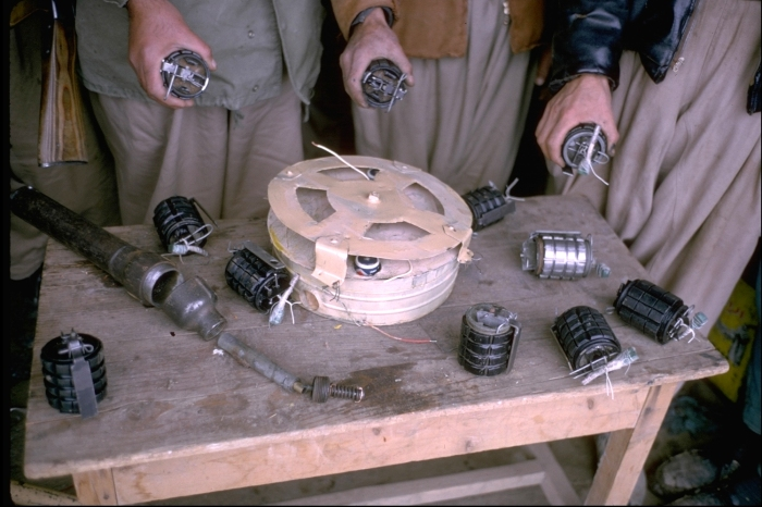 Weapons factory, northeastern Iraq, 1965