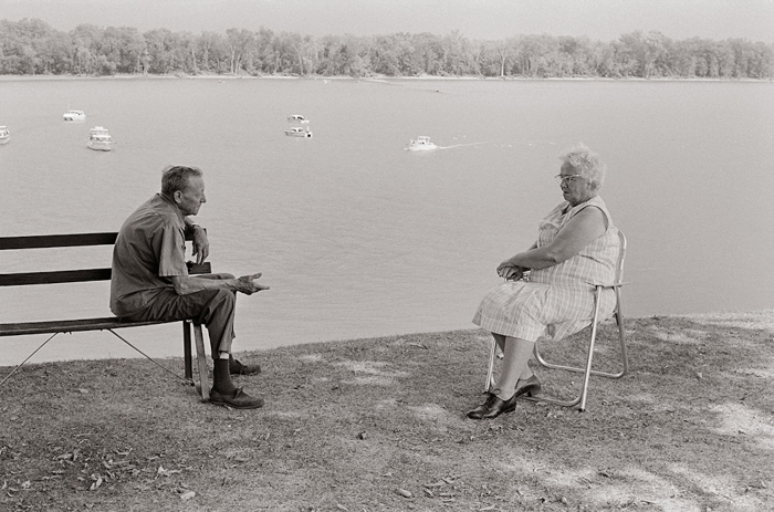 Mississippi River, Bellevue, Iowa, 1973