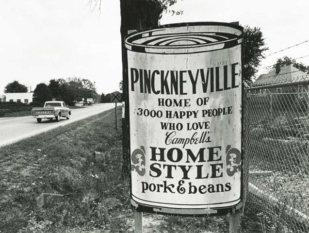 Sign: Pickneyville Home Style Beans