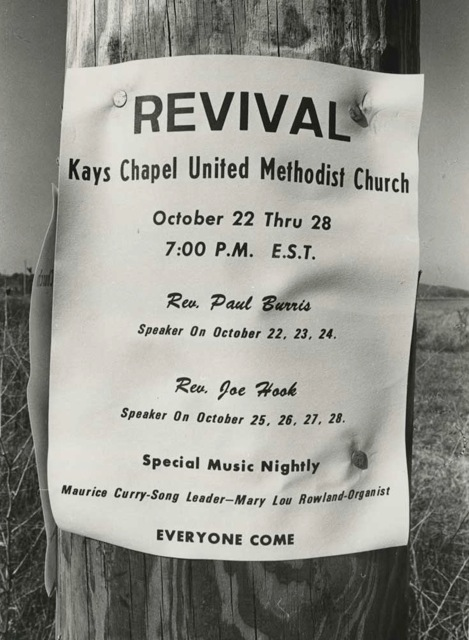 Revival-placard,-Indiana-1972
