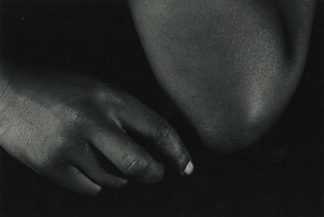 Whisper, Vintage Silver Print, ©William Carter 1992