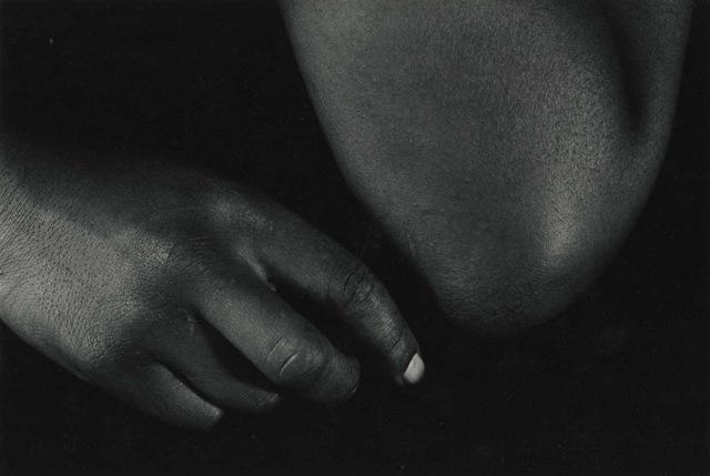 Whisper, Vintage Silver Print, ©William Carter 1992