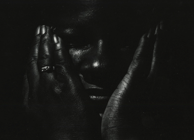 Mystery (detail), Vintage Silver Print, ©William Carter 1990