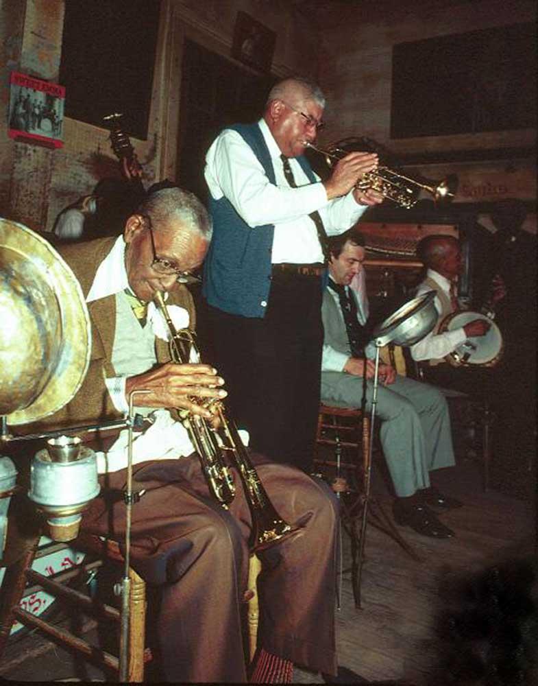 Preservation Hall, New Orleans, circa 1986