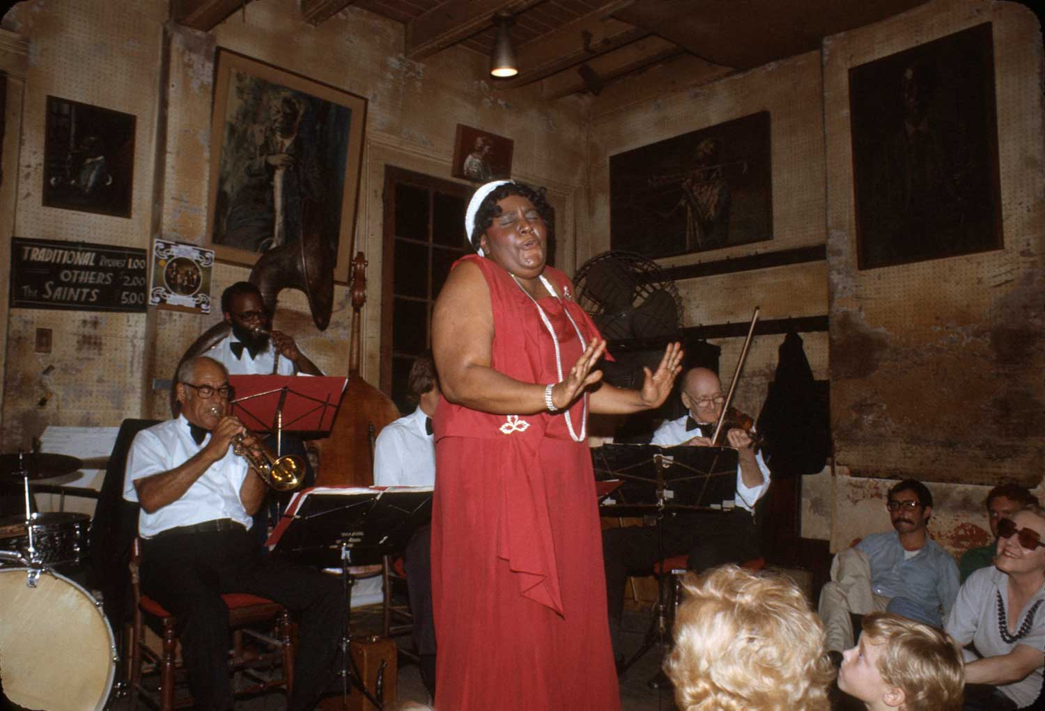 Preservation Hall, New Orleans, c. 1986