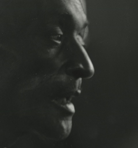 Unknown bluesman, Berkeley, California c. 1960