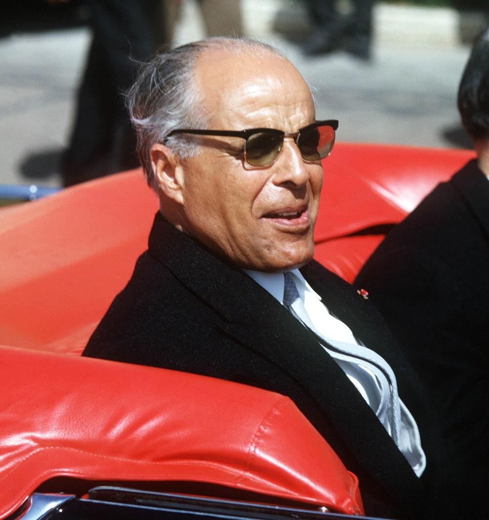 Tunisian President, Habib Bourguiba